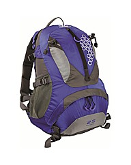 Summit 25 Litre Rucksack Blue Bag