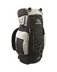 Rambler 25 Litre Rucksack Grey Black Bag