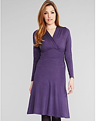 Midnight Grace Holly DD+ Ruched Dress