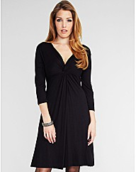 Midnight Grace Iris DD+ Knot Front Dress