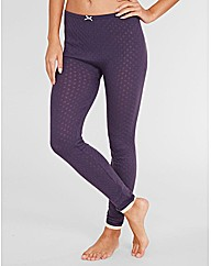 Pointelle Thermal Legging