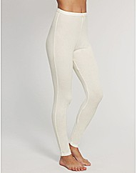 Adore Thermal Silk Blend Rib Legging