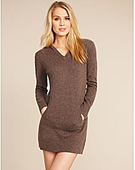 Cashmere Repose Hoody Dress