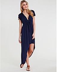 Venus Jersey Dip Hem Maxi Dress