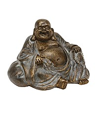Happy Buddha Figurine Sitting Sack 10cm