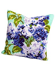 Collection dArt Lilas Cushion Cross Stit
