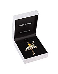 Jon Richard Ballet Dancer Brooch