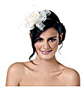 Jon Richard Rose Handwrapped Fascinator
