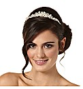 Jon Richard Pearl Lydia Wrapped Tiara