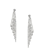 Jon Richard Crystal Wing Drop Earring