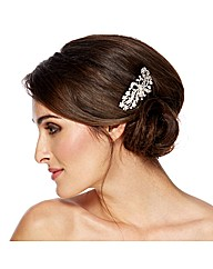 Jon Richard Swirl Ribbon Hair Comb