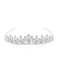 Jon Richard Multi Crystal Flower Tiara