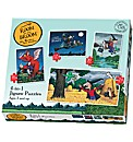 Room on the Broom 4 in 1 Jigsaw Puzzles