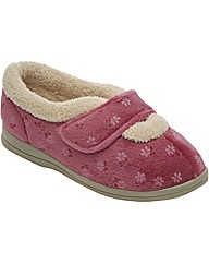 Cosyfeet Sleepy Slipper EEEEEE Fit
