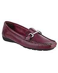 Riva Kingfisher Ladies Leather Moccasin