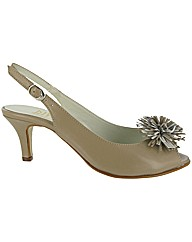 Riva Fluff Leather Sandal