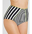 Santa Maria High Waisted Bikini Brief