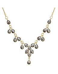 Mood Stone Droplet Necklace