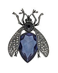 Mood Crystal Bug Brooch