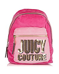 Juicy Couture Velour Backpack