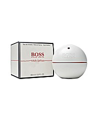 Hugo Boss In Motion White 90ml Edt Him