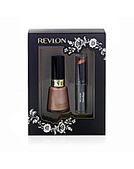 Revlon Lip & Nail 2 Piece Gift Set