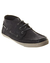 Oliver Leather High Top Boat Shoe