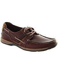 Goodison Lace Up Trainer Mens Boat Shoe