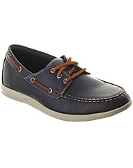 Lancaster Ultralight Leather Boat Shoe