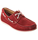 Portland Bright Suede Leather Boat Shoe