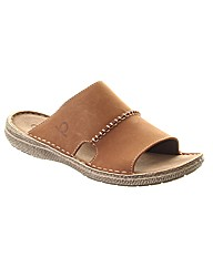Huron Leather Mule Sandal