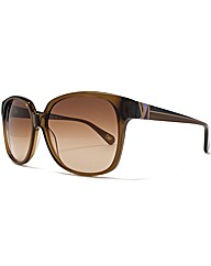 DVF Coloured Temple Sunglasses