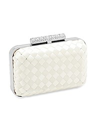 Jon Richard Diamante Clasp Clutch Bag