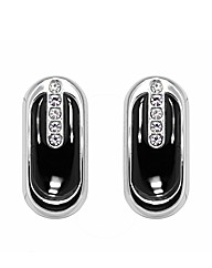 Gents Cubic Zirconia Set Cufflinks