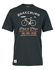 Mens Black Pace is Power Tee