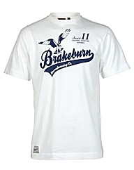 Mens White Hawk Tee