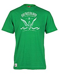 Brakeburn Green Wheel T-Shirt