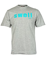 Brakeburn Grey Swell T-Shirt