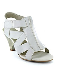Spot On Aruba Strappy Wedge Sandal
