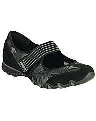 Skechers Womens Bikers Pearl Pop Shoe