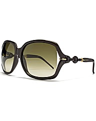 Gucci Oversize Chain Sunglasses