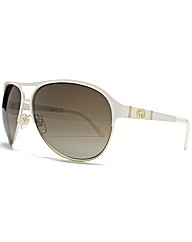 Gucci Metallic Aviator Sunglasses