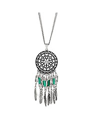 Mood Dream Catcher Pendant Necklace