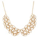 Mood Cream Pearl Collar Effect Necklace