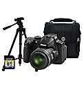Nikon Coolpix P520 Black Camera Kit