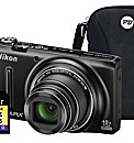 Nikon Coolpix S9400 3D Black Camera Kit