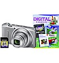 Nikon Coolpix S9500 Silver Camera Kit
