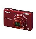 Nikon Coolpix S6200 Camera Red 16MP
