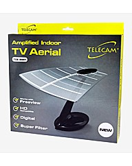 Telecam  Indoor TV Aerial with Amplifier