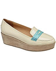 Ravel Luke wedge loafer